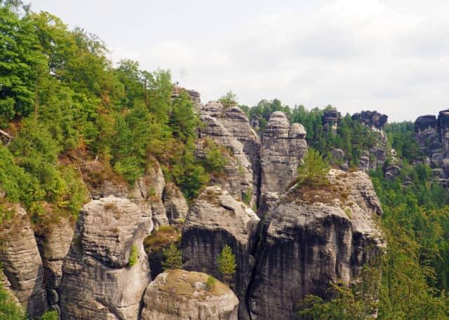 bastei, trip to the bastei, saxon switzerland, national park