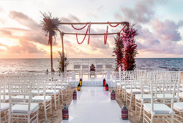 palace resorts, options for destination weddings, destination weddings, le blanc